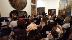L'Attore Luca Bastianello legge brani della Magna Charta Libertatum Ecclesiae et Regni Angliae
