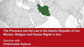 The Prisoners and the Law in the Islamic Republic of Iran. Women, Religion and Human Rights in Iran, 13 May 2016, Human Rights Centre, Padova