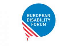 Logo EDF - Forum europeo sulla disabilità