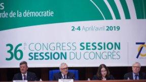 Congresso dei poteri locali e regionali del Consiglio d'Europa, 36^ sessione