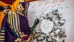 Women calling for peace, Darfur, Sudan, 2018