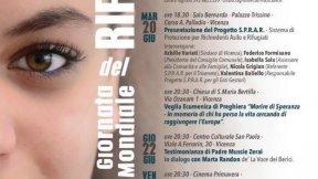 Giornata Mondiale del Rifugiato 2017 Comune di Vicenza e S.P.R.A.R locandina