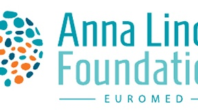 New logo of the Anna Lindh Euromediterranean Foundation for the Dialogue between Cultures, 2012