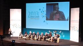 Anna Lindh Forum 2013, Cerimonia di Apertura, discorso di Lilian Thuram, ex calciatore professionista e attivista per la lotta la razzismo