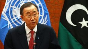 Il Segretario Generale delle Nazioni Unite Ban-Ki Moon in Libia il 2 novembre 2011