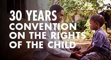 30° anniversario della Convenzione delle Nazioni Unite sui diritti dell'infanzia e dell'adolescenza