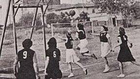 Foto storica donne e sport