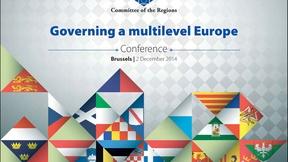 """Locandina della conferenza """"Governare un' Europa a più livelli"""", 2 dicembre 2014"""