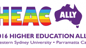 Higher Education Ally Conference, Western Sydney University 2016, logo