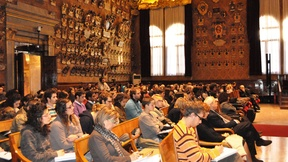 Human rights day 2010, Extreme poverty and human rights: rights of the poor, University of Padua, Palazzo del Bo, Aula Magna, 10 December 2010.