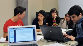 "Working Groups of the students of the Bachelor degree course in ""Political Science, International Relations and Human Rights"" - Course of International Relations, prof. Marco Mascia, Human Rights Centre, 2013."