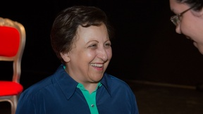 Shirin Ebadi, Nobel Peace Prize since 2003 for her commitment to human rights defense and in favour of democracy.