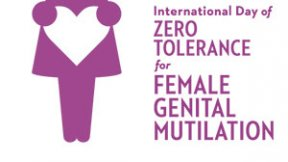Giornata internazionale della tolleranza zero per le mutilazioni genitali femminili, logo