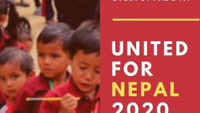 United for Nepal 2020 Flyer
