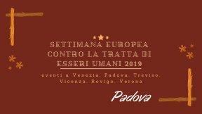 Giornata europea contro la tratta di esseri umani 2019-Padova