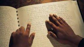 Immagine rappresentante il sistema di lettura e scrittura Braille