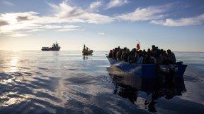 Immigrati sul mare