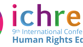 ICHRE, 9th International Conference on Human Rights Education, logo