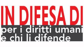 Logo of Italian network - in difesa di - for the human rights of Human Rights Defenders