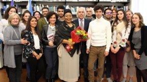 """Il Premio Nobel per la Pace Leymah Gbowee al Centro di Ateneo per i Diritti Umani """"Antonio Papisca"""""""