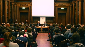 View of the room of the Archivio Antico (Ancient Archive), Meeting on ratification perspectives of the Optional protocol to the Convention against torture (OPCAT) by the Italian parliament, University of Padua, 26 March 2010