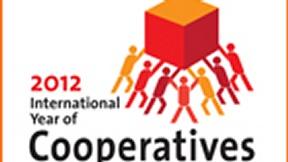 Logo dell'Anno Internazionale delle Cooperative