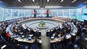 The Committee of Ministers of the Council of Europe in a meeting