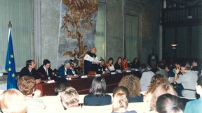 Human Rights Centre, Inauguration of the first academic year of the European Master in Human Rights and democratisation, 6 October 1997, Palazzo Ducale, Piovego room.