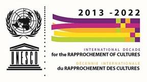 UNESCO, logo decade internazionale per il riavvicinamento delle culture