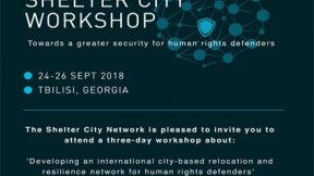 International Shelter City Workshop 2018, Tbilisi 24-26 September
