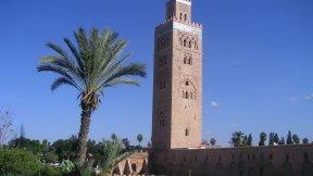 Moschea della Kutubiyya, Marrakesh, Marocoo