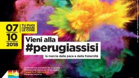 Manifesto Marcia PerugiAssisi 2018