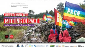 Venerdì 16 marzo mille studenti e insegnanti del Friuli Venezia Giulia s'incontreranno nelle trincee del Carso goriziano per dare vita ad una grande manifestazione di pace contro le guerre, la violenza e l'indifferenza.