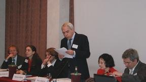 """Partecipanti alla prima riunione dei referenti del """"European National Preventive Mechanisms (NPM) Project"""" svoltasi a Padova il 27-28 gennaio 2010."""