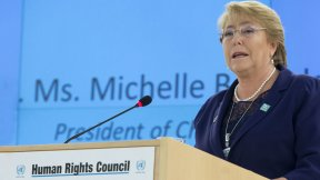 Michelle Bachelet, appointed as seventh United Nations High Commissioner for Human Rights