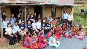 Mother's group in Dalchoki village of Lalitpur
