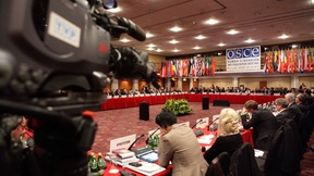 Partecipanti alla sessione di apertura della 16° conferenza annuale OSCE sulla dimensione umana, Varsavia, 24 settembre 2012