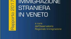 Cover of the 2017 Annual report on foreign immigration to Veneto published by the Regional Observatory on Immigration of the Region of Veneto