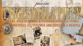 """Poster della mostra """"I figli della Pietà"""""""