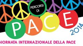 Logo Percorsi di Pace, Collegno, 2014