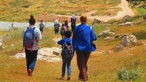 Figure 1 Protective accompaniment of Palestinian schoolchildren