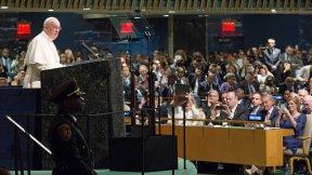 Papa Francesco all'Assemblea Generale delle Nazioni Unite, 2015