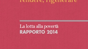 Copertina del Rapporto sulla lotta alla povertà 2014