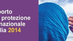 Logo Rapporto Caritas Protezione Internazionale 2014