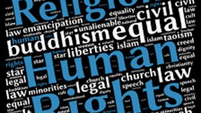 "International Conference ""Religions and Human Rights"" Logo"
