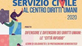 """Servizio civile universale, Centro di Ateneo per i Diritti Umani """"Antonio Papisca"""", Università di Padova, 2019"""