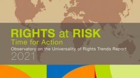 Diritti a rischio: il report 2021 dell'Osservatorio sull'Universalità dei Diritti