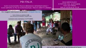 Incontri di formazione online con PBI Italia