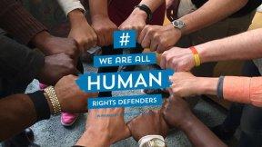 Immagine rappresentativa del principio che tutti siamo difensori dei diritti umani