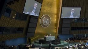 Il Presidente della 16ma sessione dell'Assemblea Generale delle Nazioni Unite, apre la prima sessione del Working Group sugli Obiettivi di Sviluppo Sostenibile (SDGs), New York, marzo 2013